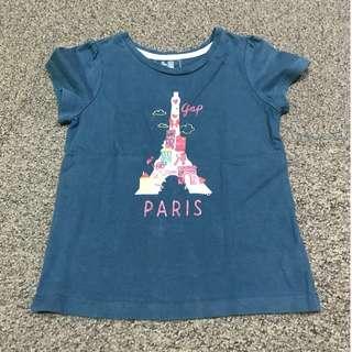 baby Gap Paris Shirt