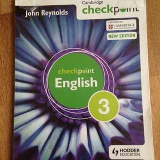Cambridge IGCSE Hodder English Checkpoint 3