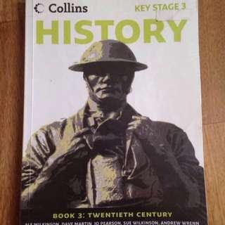 IGCSE Collins History Book 2 Book 3 Yr 8 Yr 9