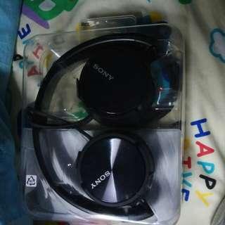 Headphone MDR-ZX310全新,剛買,有單