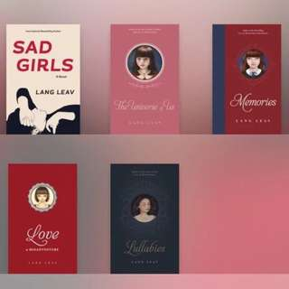 FREE! Lang Leav Ebooks