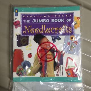 Jumbo book of needle crafts