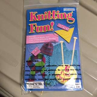 Knitting fun kit