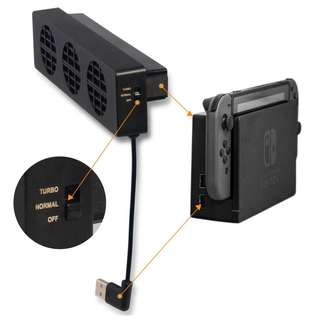 Nintendo Switch Cooling Fan Docking station