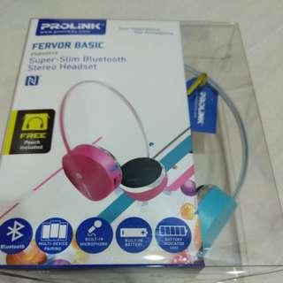 Prolink super slim bluetooth stereo headset