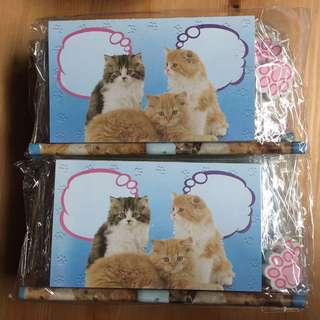 14 cat notepads