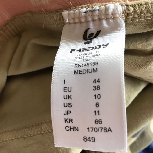 2 Pairs of Authentic Freddy pants