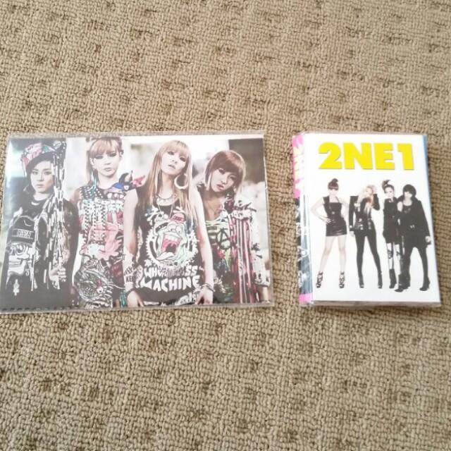 2NE1 Notepaper&Photo