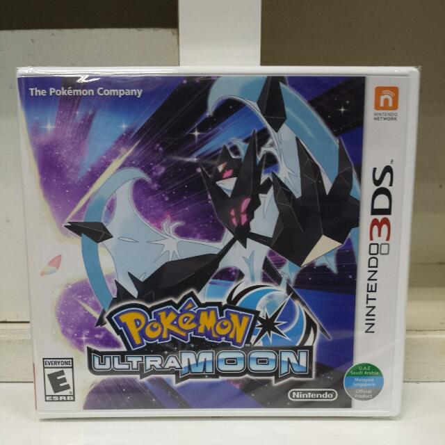 3DS Pokemon Ultra Moon