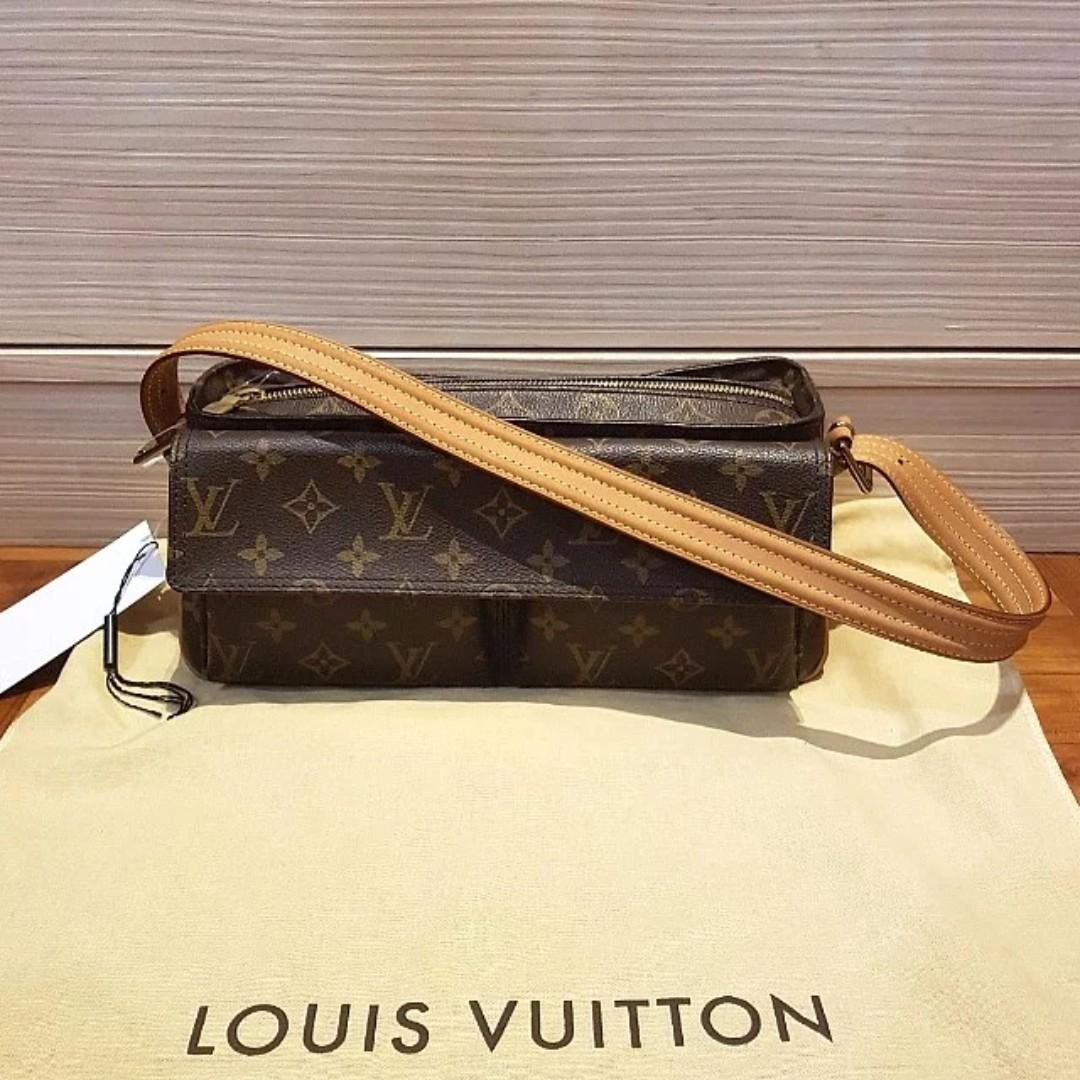 4f3efa093547f 70% OFF!!!》Authentic Louis Vuitton Viva Cite bag in monogram canvas ...