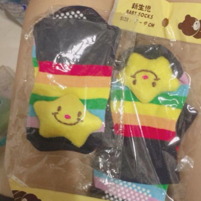 全新寶寶立體襪