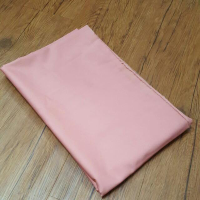 兩碼 粉紅純棉布料
