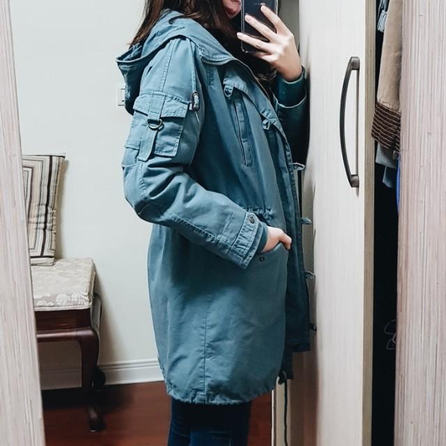 超保暖超美軍裝大衣
