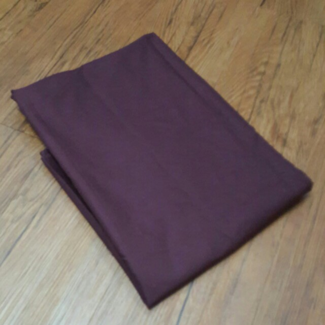 兩碼 酒紅色純棉布料