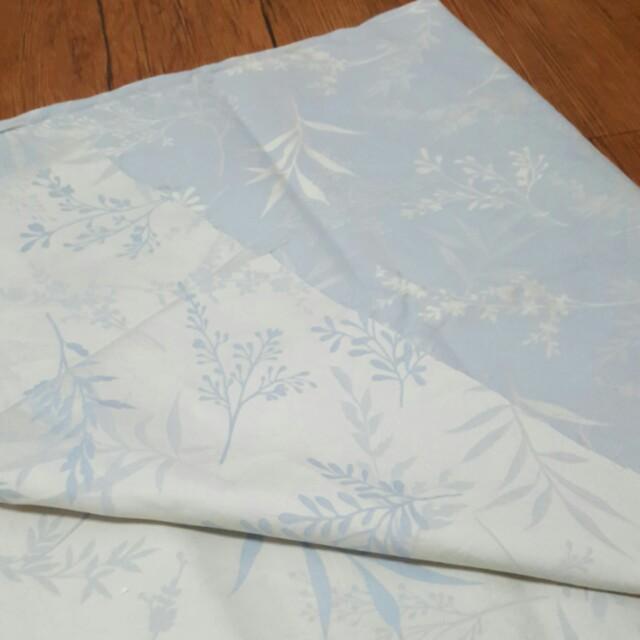 四呎 雙色花卉棉布