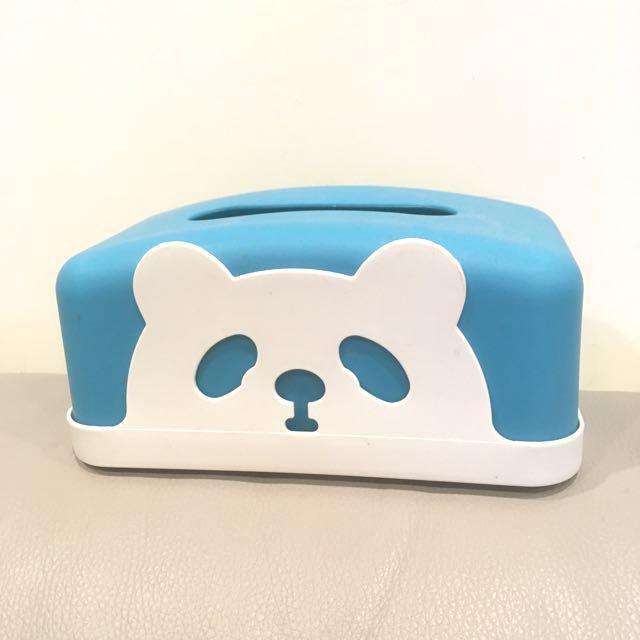 熊貓 面紙盒