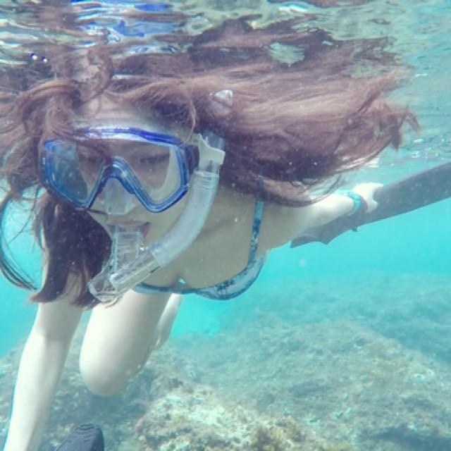 面鏡 潛水