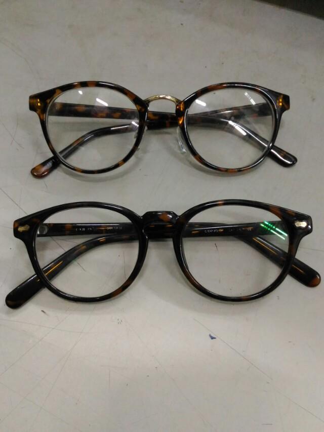 經典復古風 文青 眼鏡  兩副一起賣