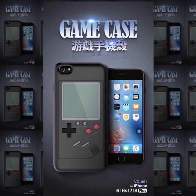 復古懷舊遊戲手機保護殼 遊戲手機殼 魔術方塊 坦克大戰 蘋果 iphone8 7 6手機殼
