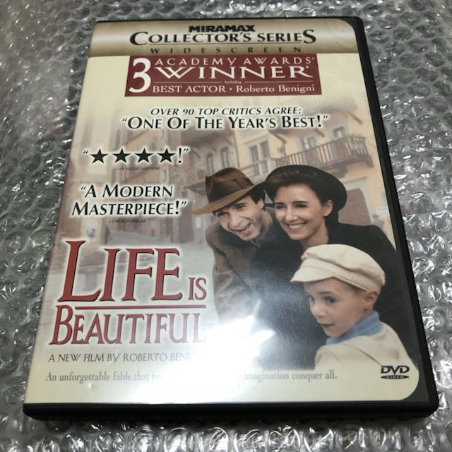 美麗人生 Life Is Beautiful 美版DVD (送台版DVD)