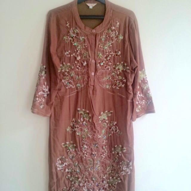 Thai Embroidery Dress