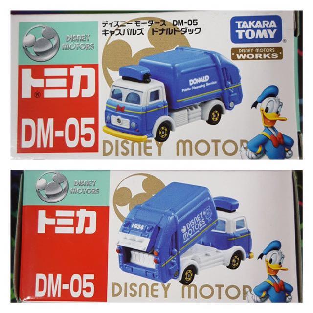 全新 Tomica 迪士尼唐老鴨垃圾車
