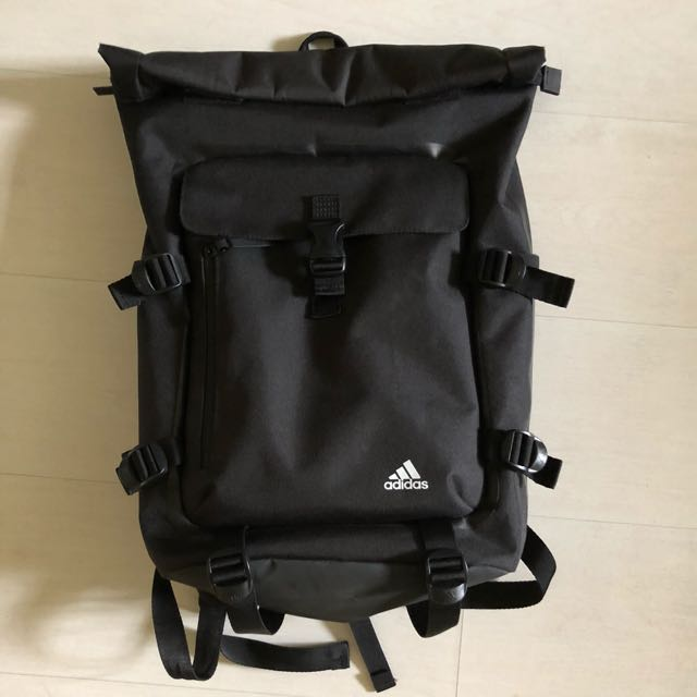 775896611e Adidas Roll Top Backpack Like New Men S Fashion Bags Wallets