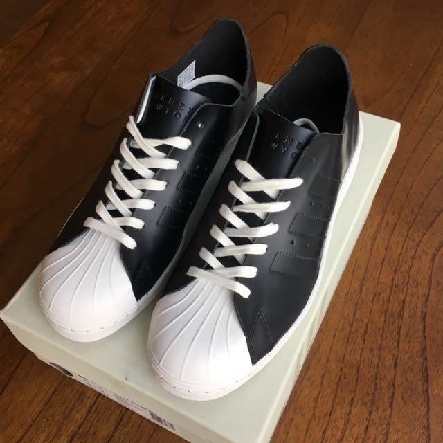 adidas / barney ist neben superstar der 80er jahre begrenzt dekonstruiert leder