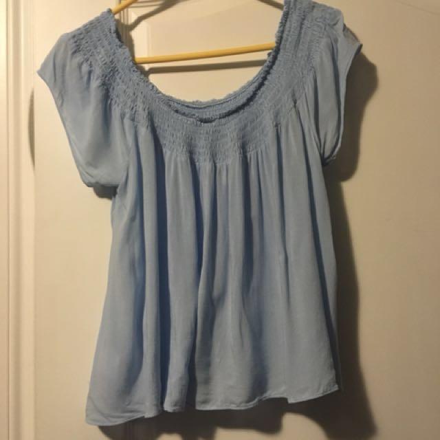 Aritzia - Talula Cabrini blouse