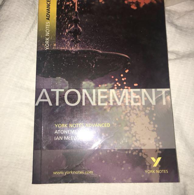 Atonement York Notes Advanced