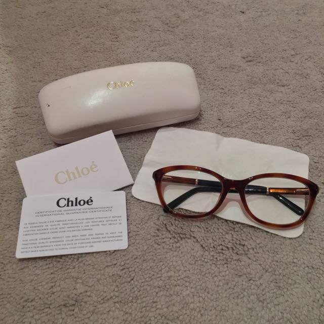 Authentic Chloé - Tortoise - Prescripted Glasses
