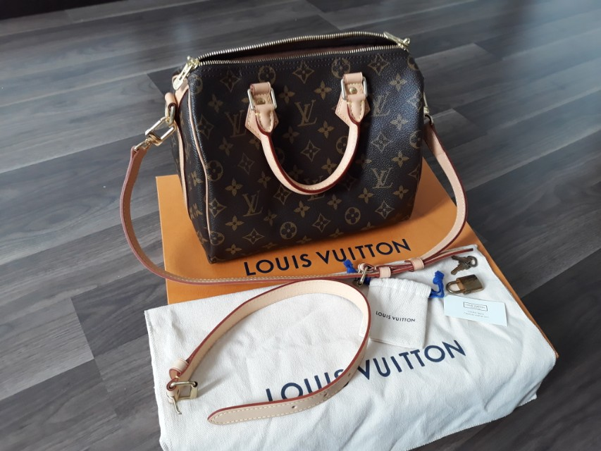 9d0aaa6cbbb0 Authentic Preloved Louis Vuitton Speedy B 25 Monogram