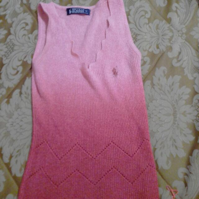 Authentic Polo Body Fit Hanging Blouse