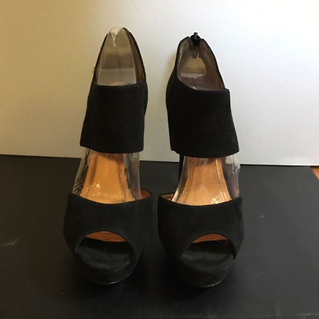 BCBG Black Platform Shoes