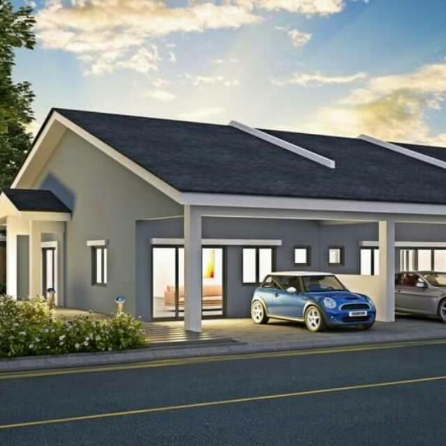Beli Rumah Teres Satu Tingkat Cara Mudah Di Seremban Hankyak 2k Sahaja Property For On Carou