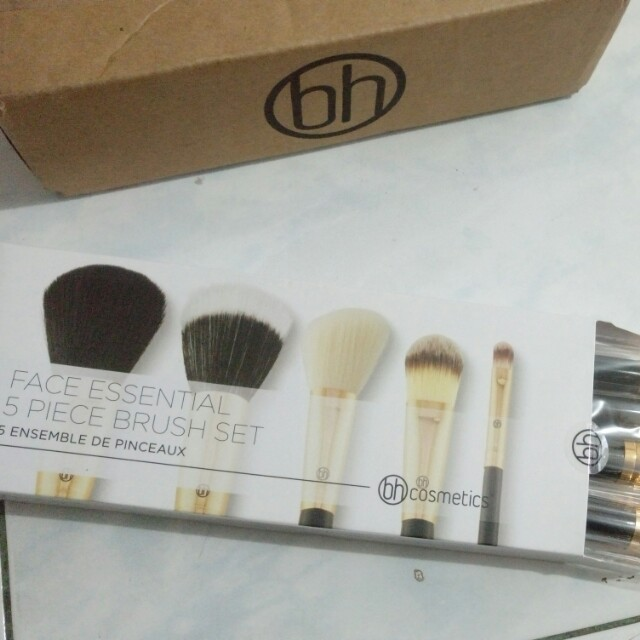 BH Cosmetics Face Essential 5 Piece Brush Set