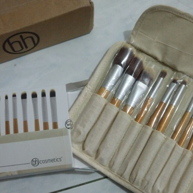 BH Cosmetics Eco Luxe 10 Piece Brush Set