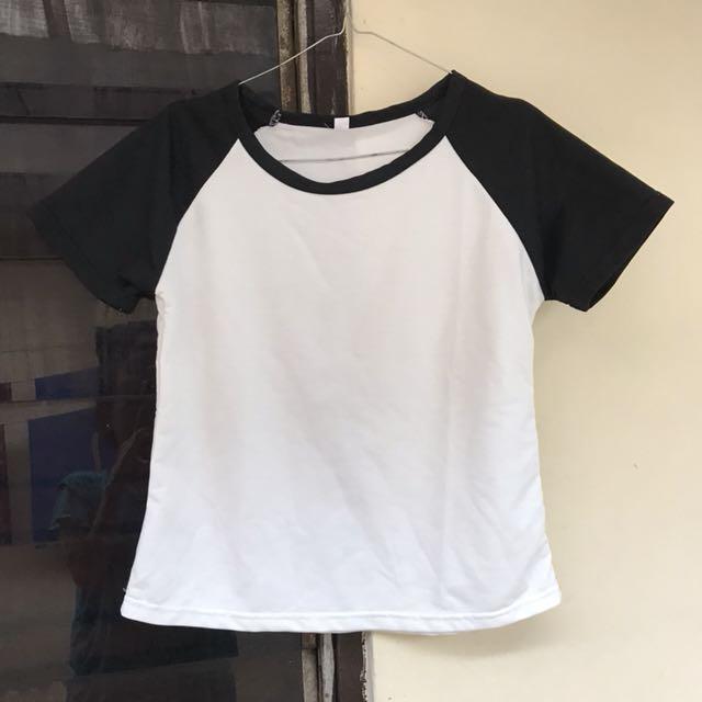 Black White T- shirt