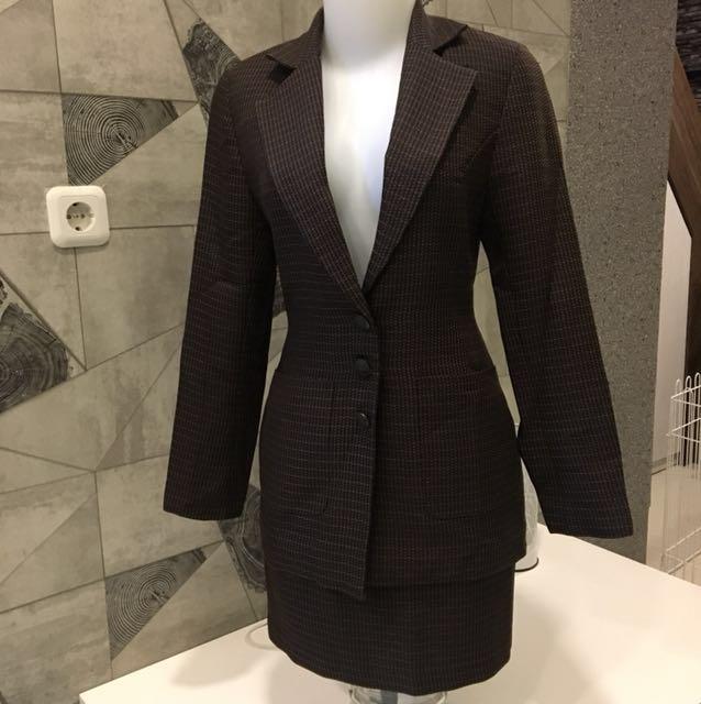 Blazer & Rok Bahan Tailor Made