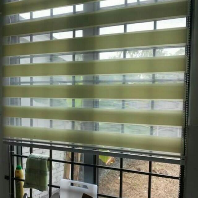 Blinds 5ft Tinggi X 4ft Lebar Bidai Tingkap Modern Rumah Perabot Home Décor Di Carou