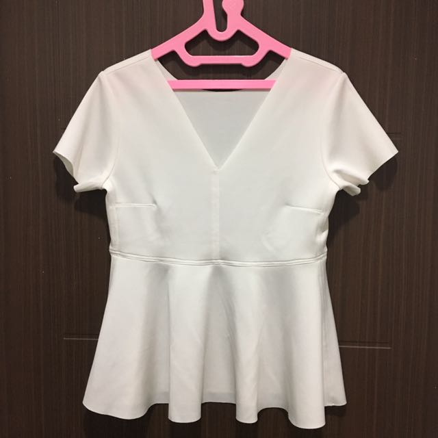 Blouse Peplum White