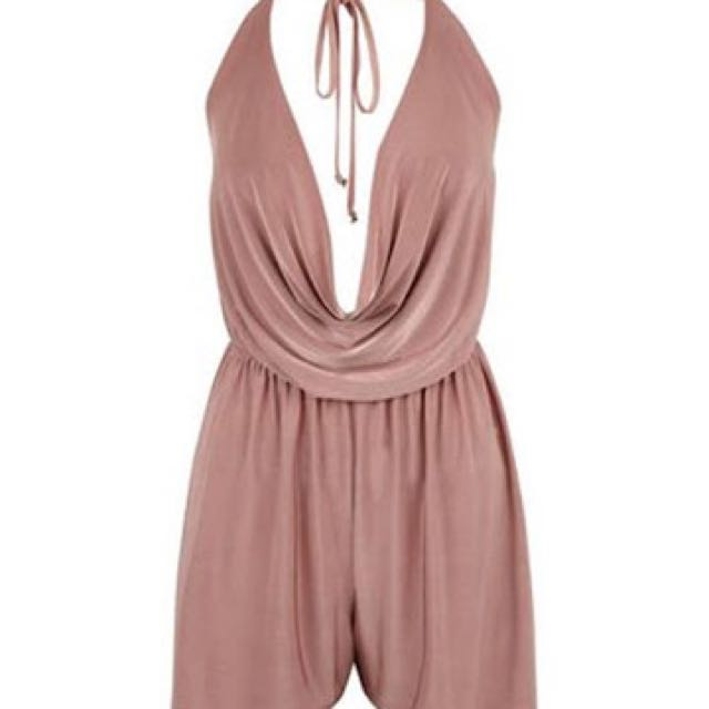 Blush playsuit