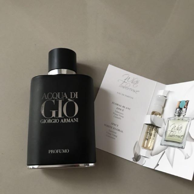 Botol parfum original + tester