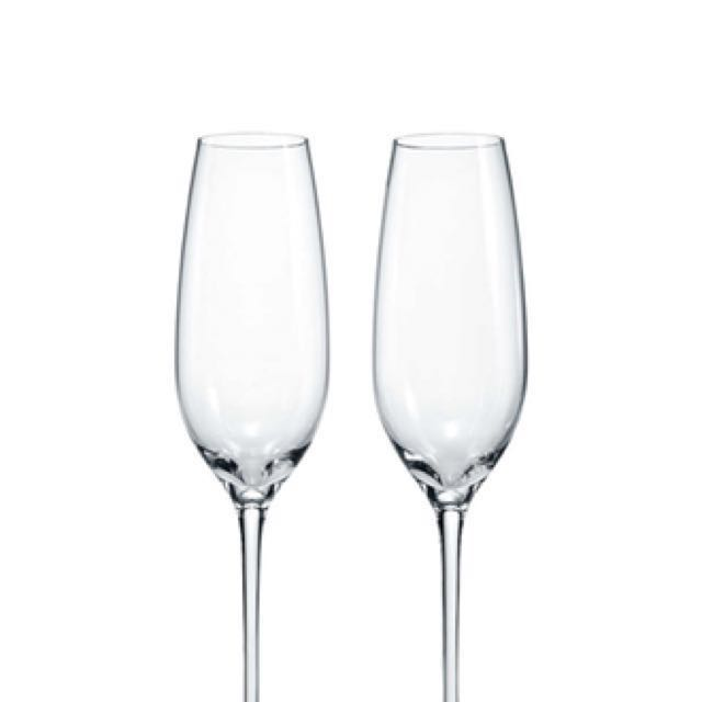 f80829a2f754f BRAND NEW - 6 pcs Tiffany Mouth blown Original Champagne Flutes in ...