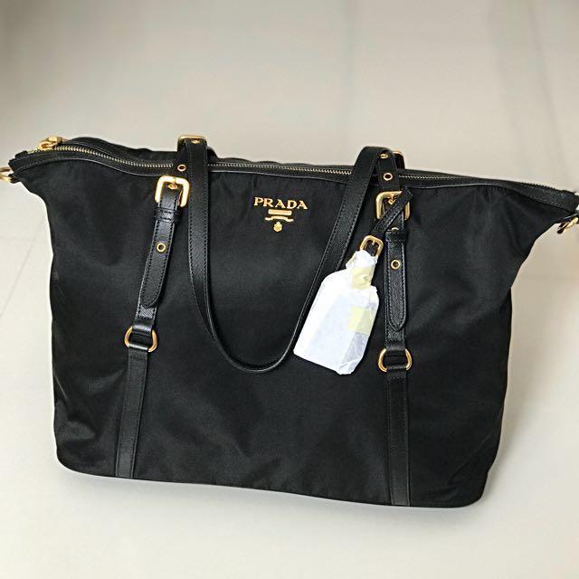 ... sale brand new authentic prada tessuto nylon bag womens fashion bags  wallets on carousell 34dce 5e6a5 6b63c4c31200d