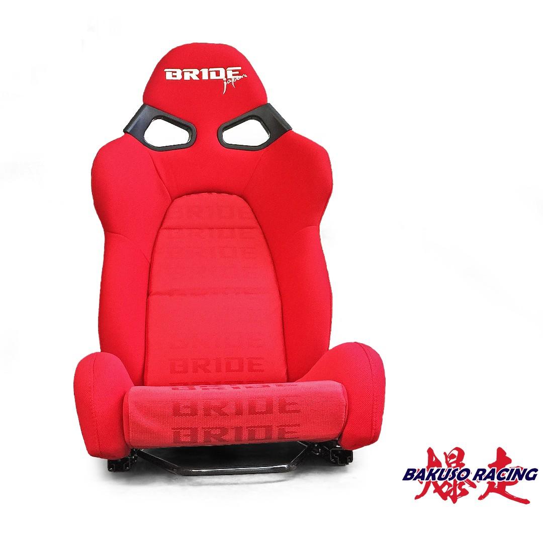 Bride Vorga Red Frp Bucket Racing Seat Auto Accessories On Carousell Peci By Beringin Jaya Pad