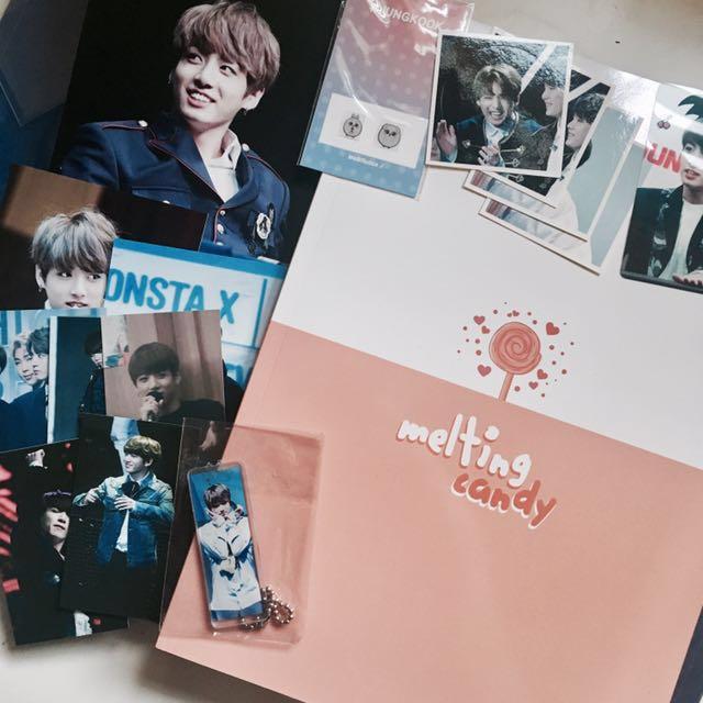 Jungkook fansite goods