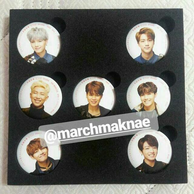 BTS ON STAGE: EPILOGUE PIN BUTTON SET (OFFICIAL)