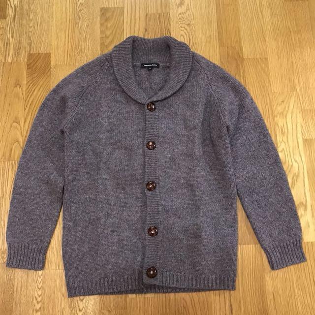 日本品牌cabane de zucca純羊毛針織外套