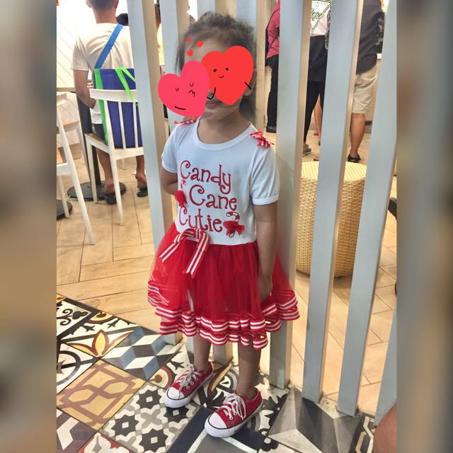 Candy Cane Cutie Dress